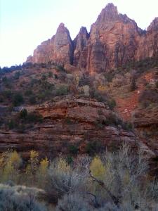 Zion park Nov 26 2012 9