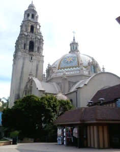 Back of San Diego Museum of Man